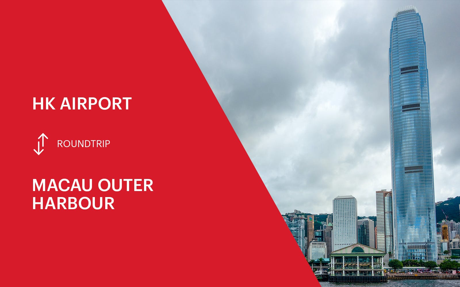 Turbojet Ferry Transfers Between HK Airport & Macau Outer Harbour - Round Trip