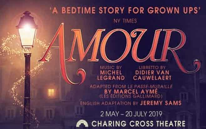 Amour Discount Tickets