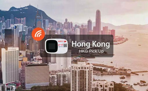 Hong Kong Wifi (Unlimited data) - Pick Up From Hong Kong