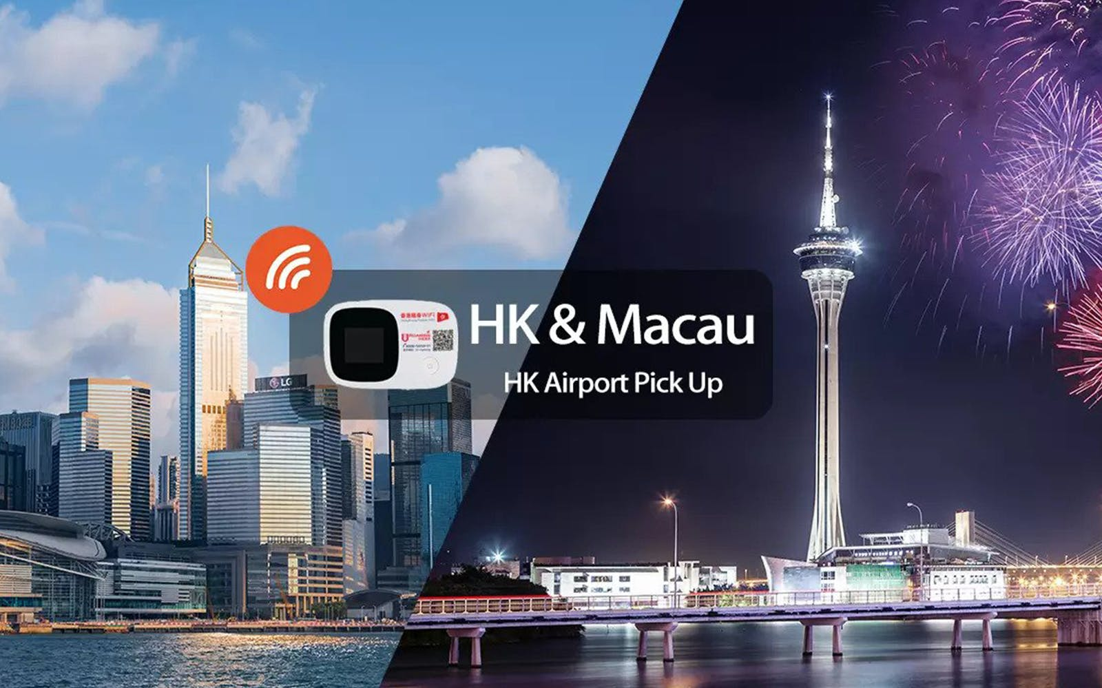 Hong Kong / Macau Wifi (Unlimited data) - Pick Up From Hong Kong