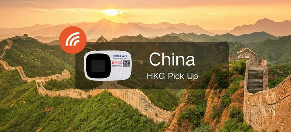 China / Hong Kong / Macau Wifi - Pick Up From Hong Kong