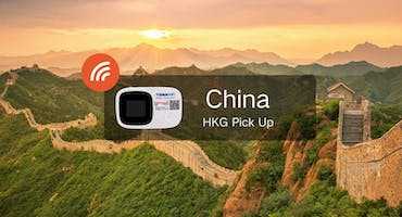 China Wifi (Unlimited data) - Pick Up From Hong Kong