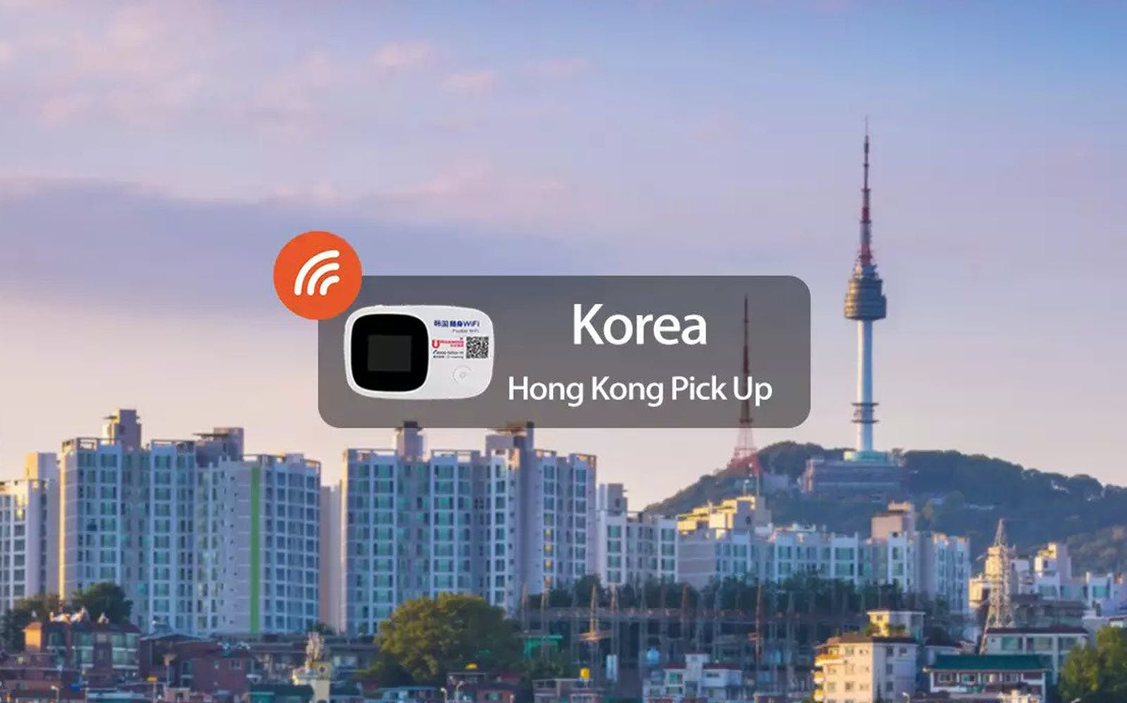 Korea 4G Unlimited Data Pick Up From Hong Kong