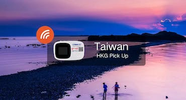 Taiwan 4G Unlimited Data Pick Up From Hong Kong