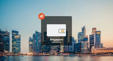 Singapore 4G Unlimited Data Pick Up From Hong Kong