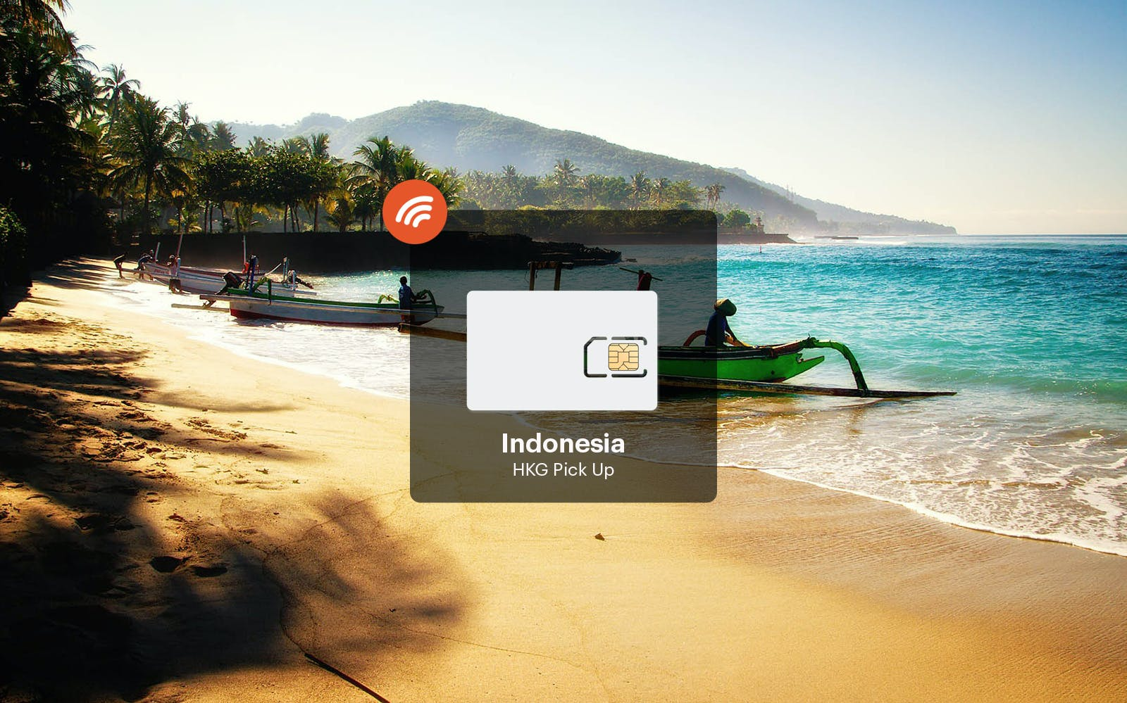 Indonesia 4G Unlimited Data Pick Up From Hong Kong