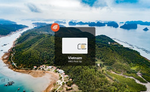 Vietnam 4G Unlimited Data Pick Up From Hong Kong