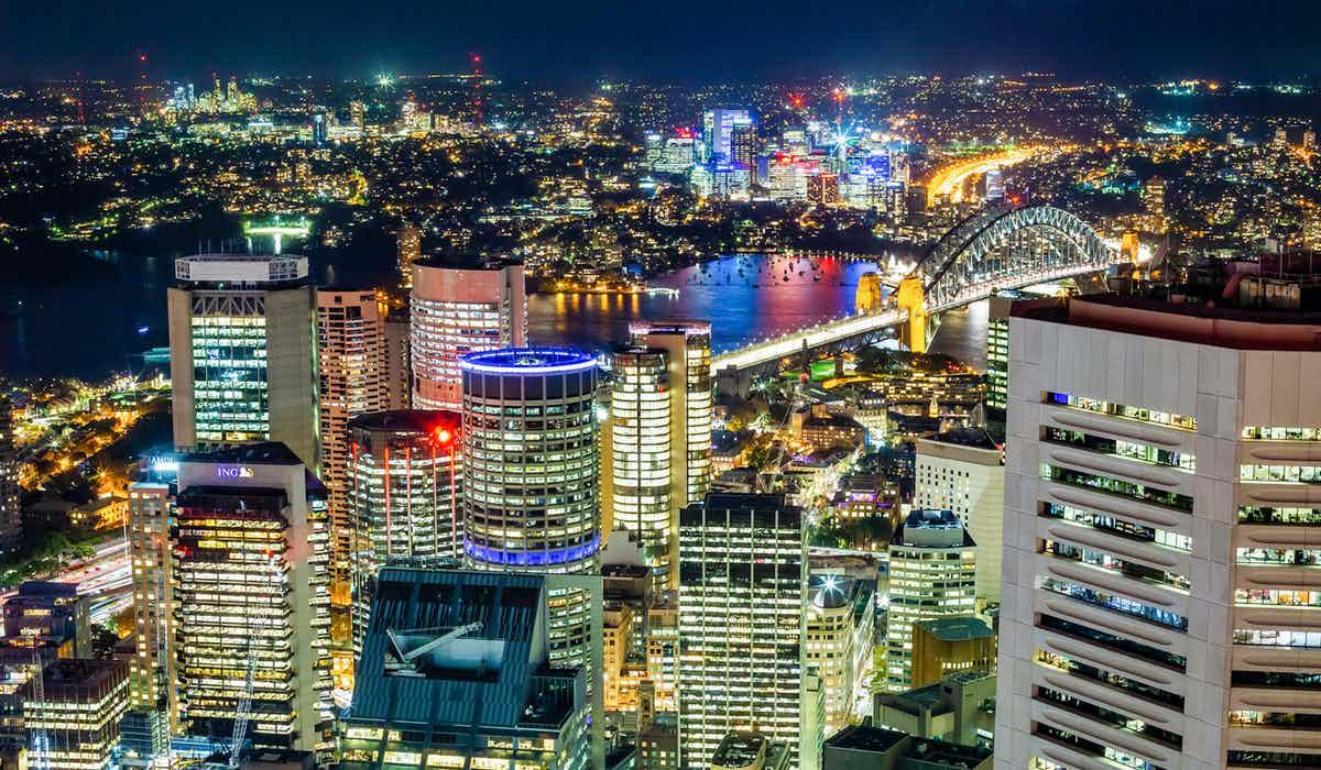 Sydney in November