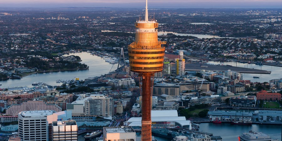 Sydney in November - Sydney Tower Eye