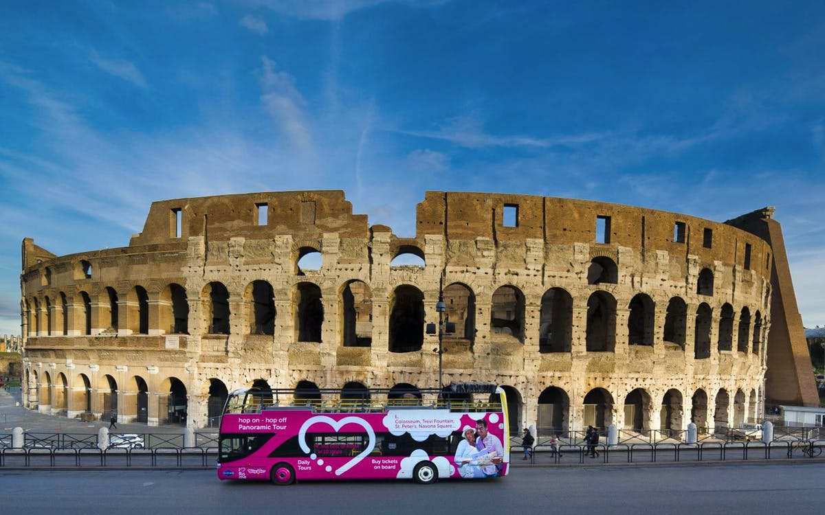 i love rome: hop-on hop-off bus tour -3