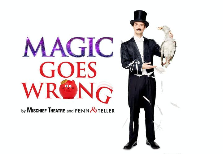 Best West End Shows- Magic Goes Wrong