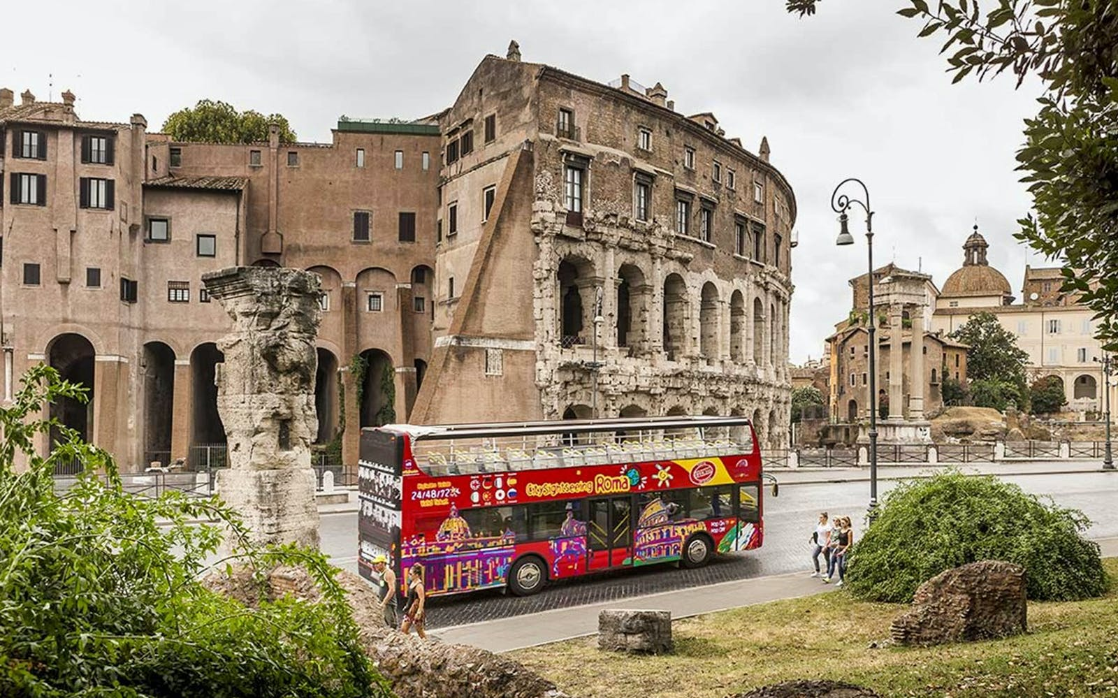 Maxi Combo: Hop-on Hop-off + Skip The Line to Vatican and Colosseum Tickets
