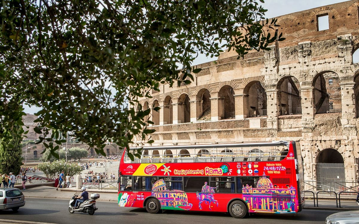hop-on hop-off bus tour + skip the line colosseum tickets-2