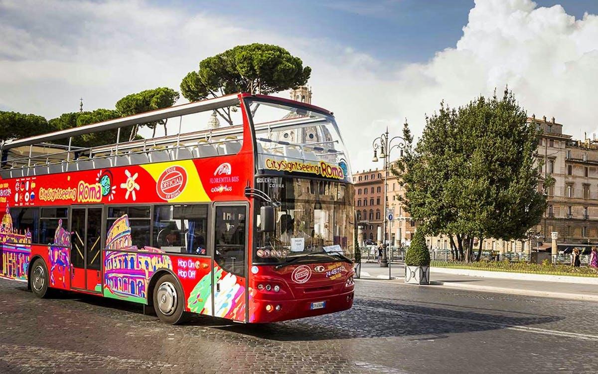 city sightseeing rome: 24/48/74hr hop-on-hop-off bus tour & free audio guide-1