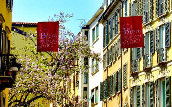 Milan in 1 day- Brera