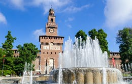 1 day in Milan- Castello Sforzesco
