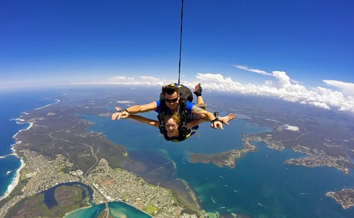 Skydive Sydney - Newcastle Beach Tandem Freefall