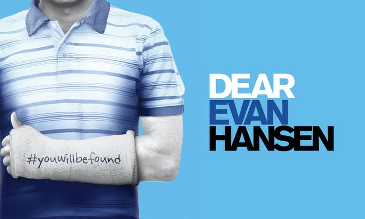 Dear Evan Hansen west end