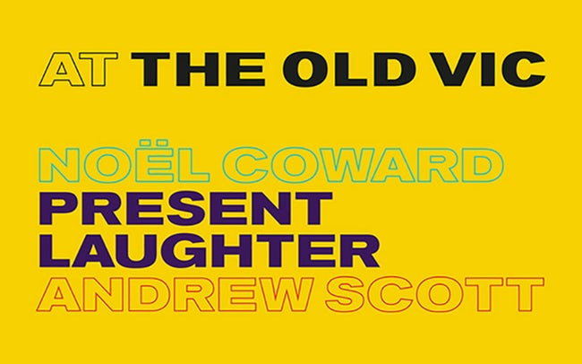 Old Vic theatre London - Present Laughter