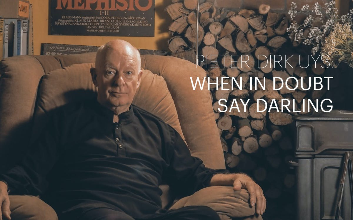 pieter-dirk uys: when in doubt say darling-1