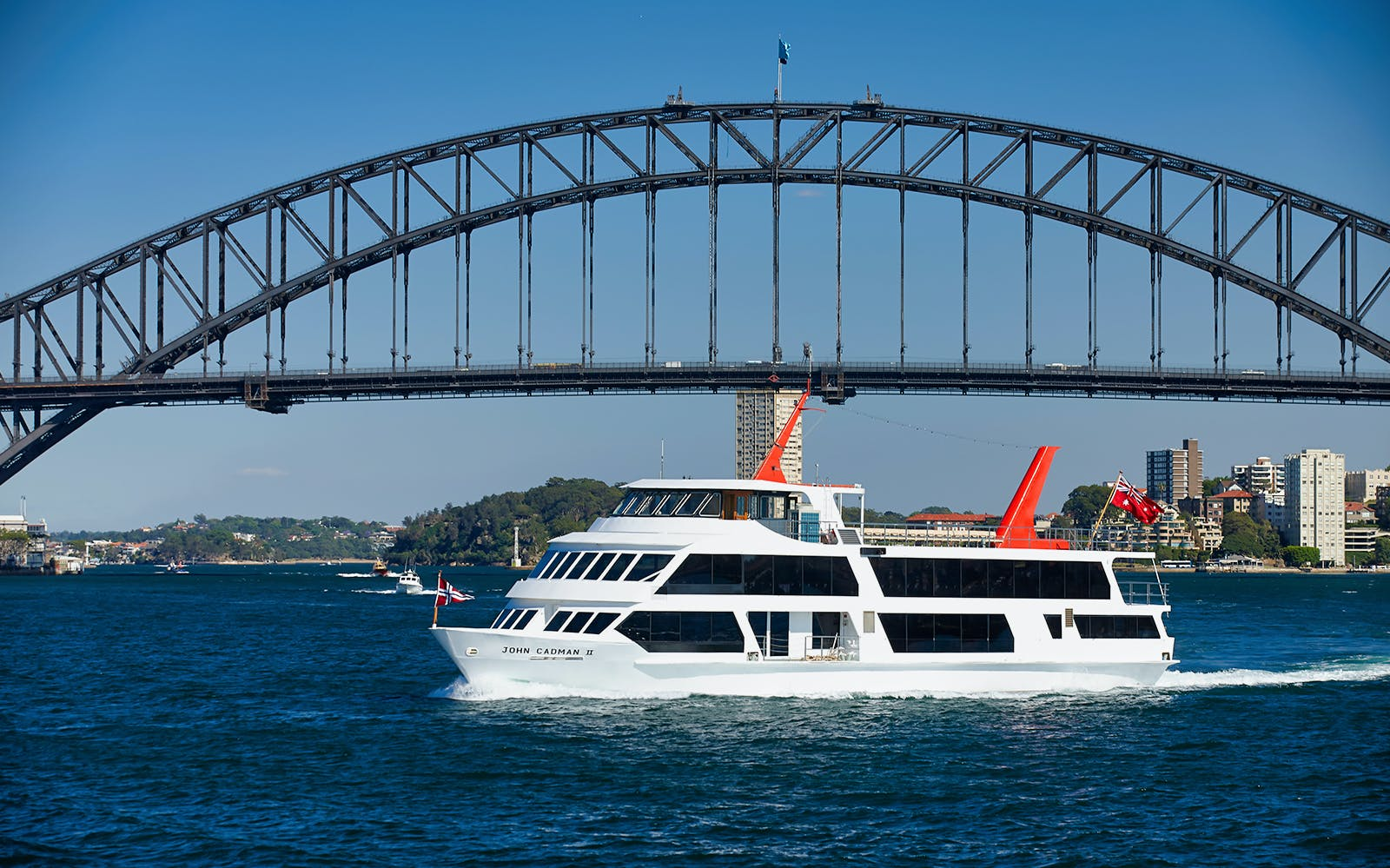 Top Deck 2 Course Lunch Cruise