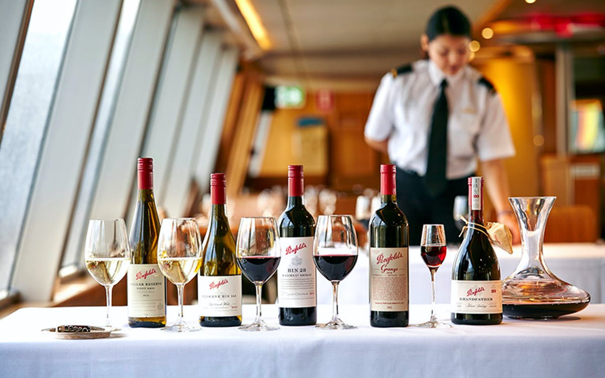 luxury cruise - platinum penfolds grange with dinner -3