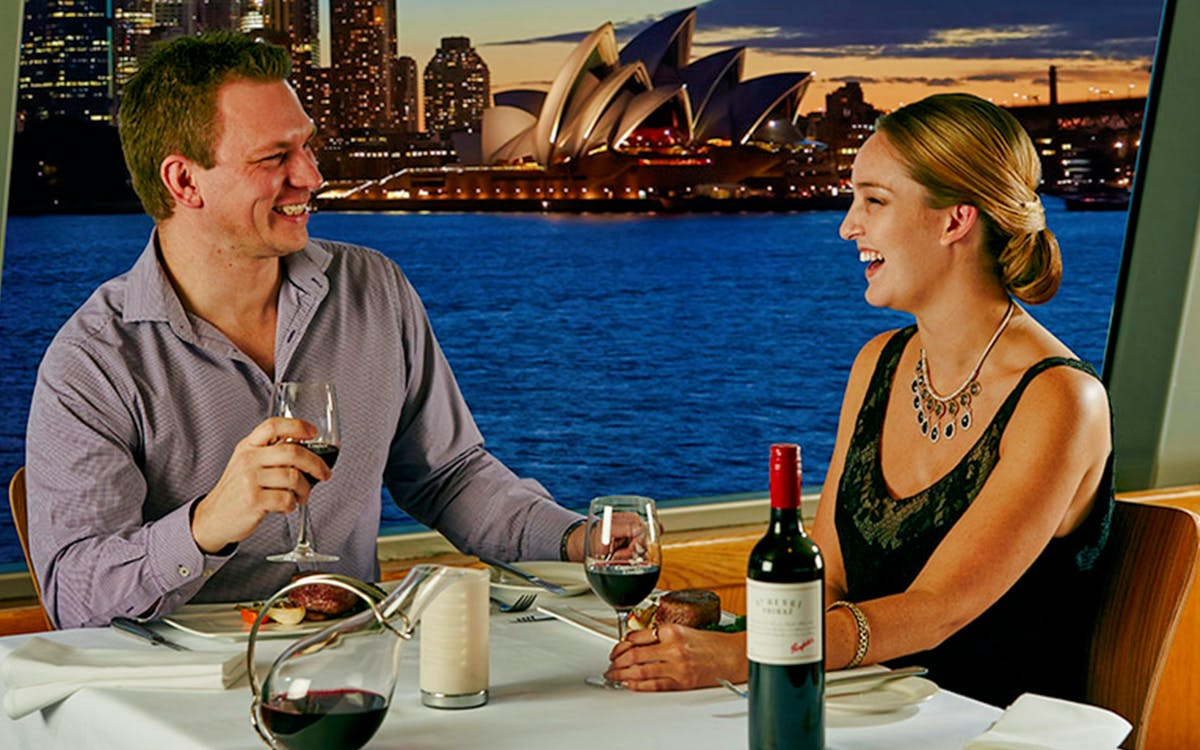 luxury cruise - platinum penfolds grange with dinner -1
