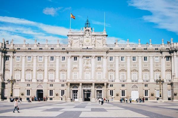 Royal Palace of Madrid reopening Post Coronavirus