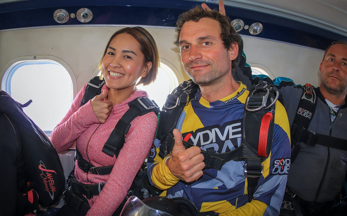 skydive dubai: palm drop zone with free hotel transfers-3