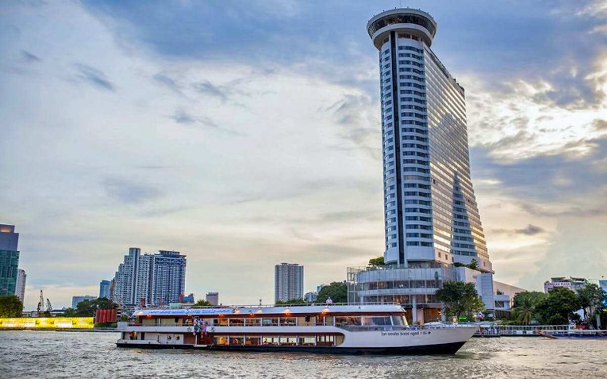 2-hour chao phraya white orchid cruise with dinner & dance shows-1