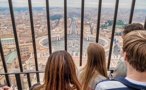 Entire Vatican City Guided Tour With St Peter's Basilica Dome Climb
