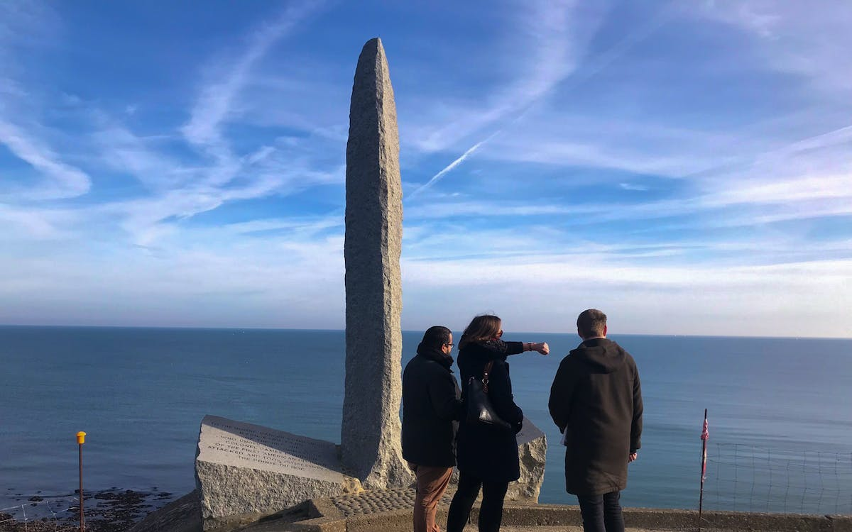 guided tour to normandy d-day beaches & lunch from paris with optional transfers-1