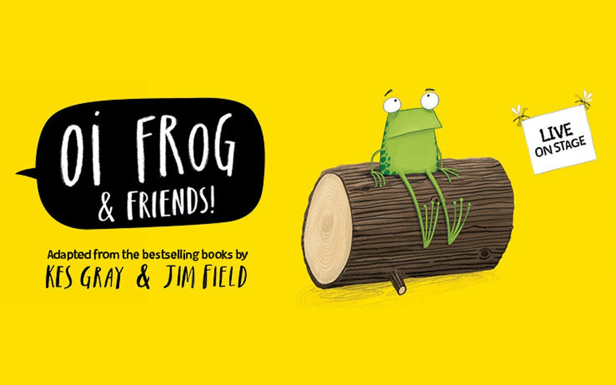 oi frog & friends! -1
