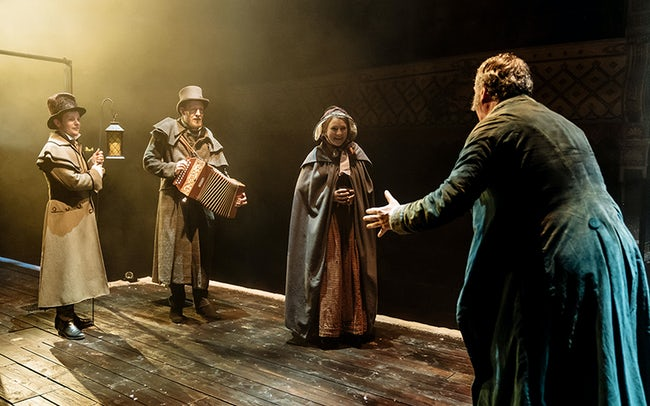 Old Vic theatre London - A Christmas Carol