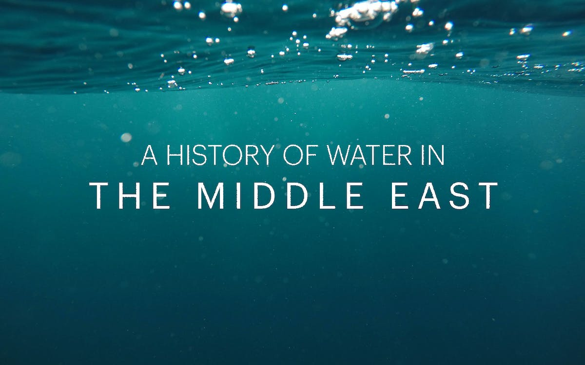 a history of water in the middle east-1
