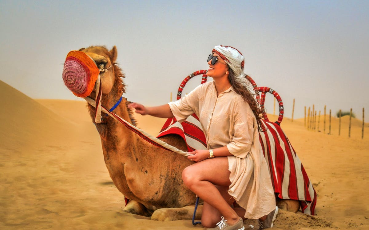 premium red dunes desert safari & camel safari with bbq dinner at al khayma camp-1