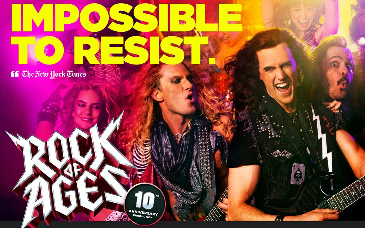 rock of ages off-broadway tickets