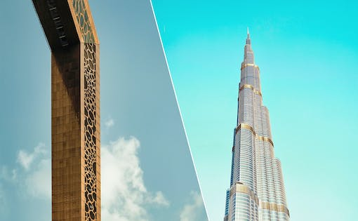 Dubai Frame + Burj Khalifa: At the Top (Level 124 & 125)