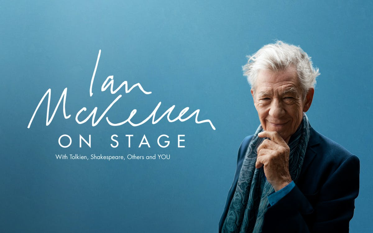 Ian McKellen On Stage london tickets