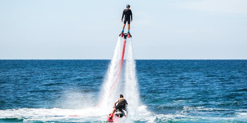 Water sports in Dubai - fly board