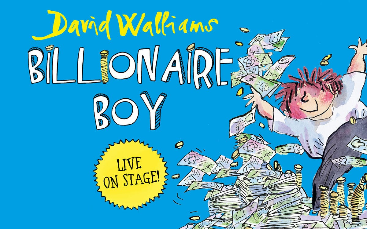 david walliams' billionaire boy -1