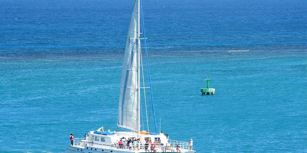 Water sports in Dubai - Catamaran Tour