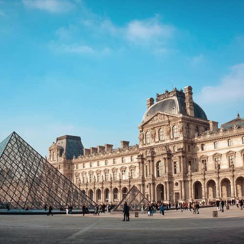 Inside Louvre- Pyramid