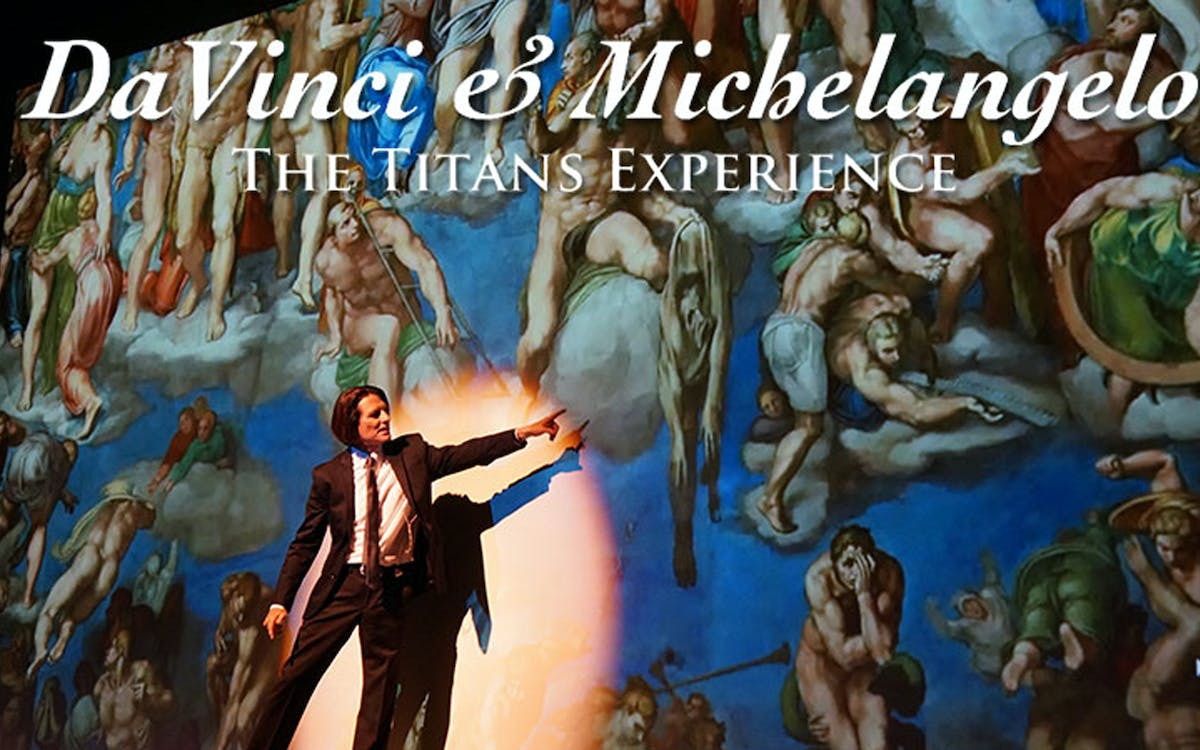 davinci and michelangelo: the titans experience-1