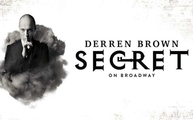 Derren Brown Secret Broadway Discount Tickets