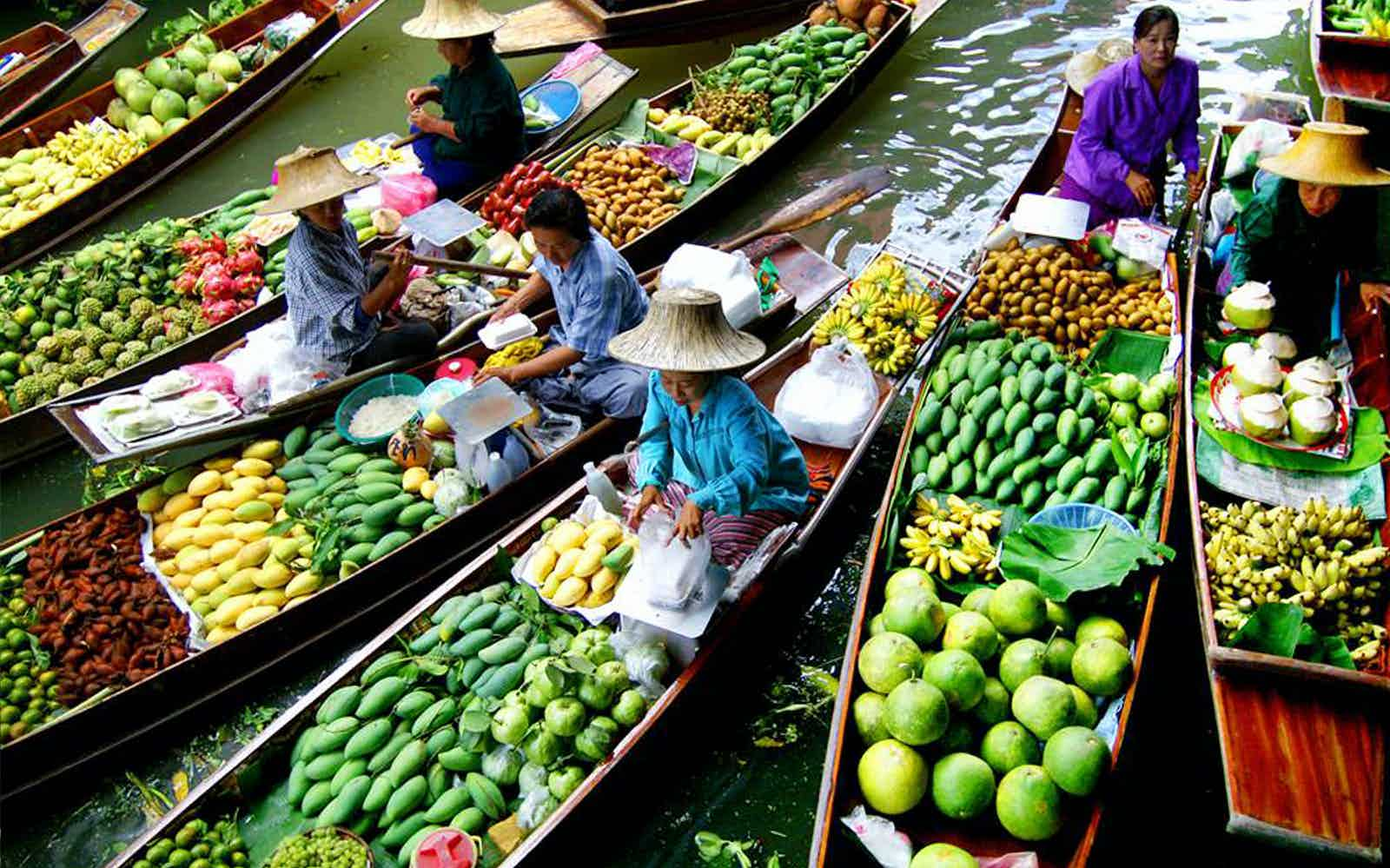 best floating markets bangkok