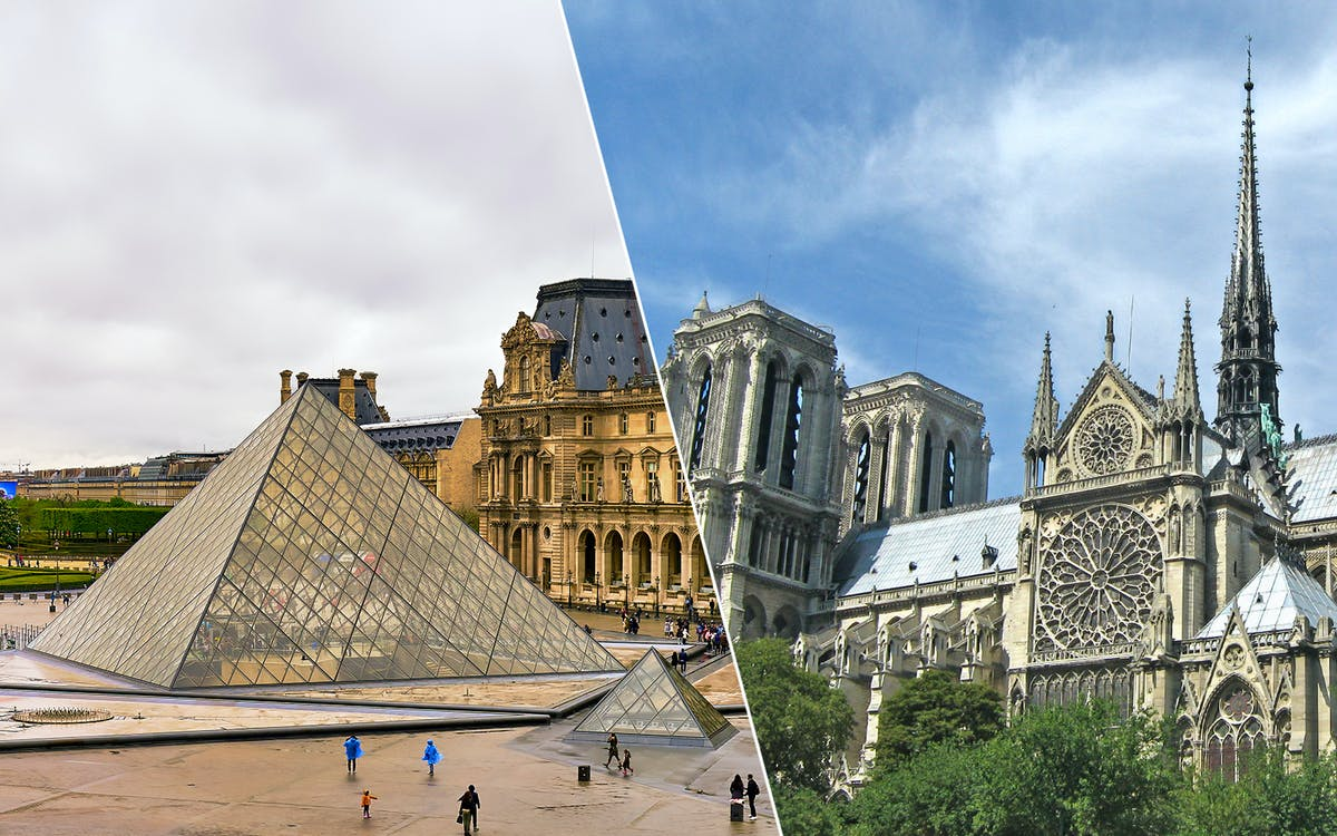 best of paris: louvre museum & notre dame island with sainte chapelle combo tour-1