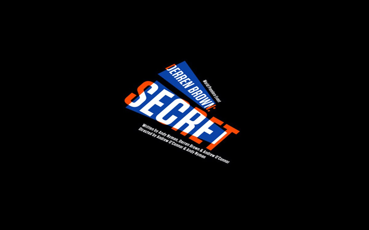 derren brown: secret - broadway week-1