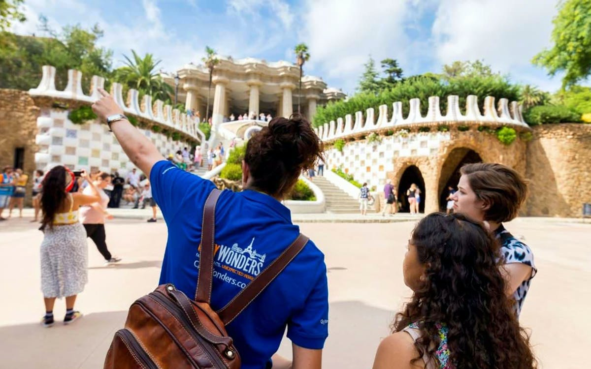 park guell with bus transfer-1