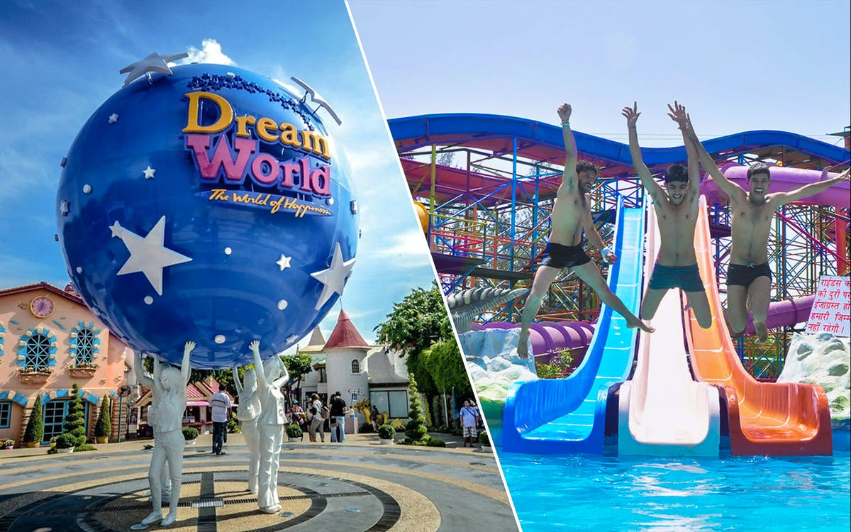 dream world + water fun + round trip transfers combo with optional buffet lunch-1